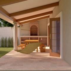 Rumah pedesaan by V+C Arquitectura