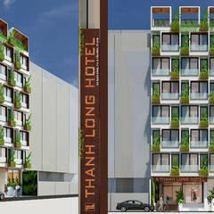 thiết kế khách sạn hiện đại Thanhlong:  Nhà by thiết kế khách sạn hiện đại CEEB, Hiện đại