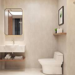 thiết kế khách sạn hiện đại Thanhlong:  Phòng tắm by thiết kế khách sạn hiện đại CEEB,