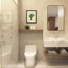 thiết kế khách sạn hiện đại Thanhlong:  Phòng tắm by thiết kế khách sạn hiện đại CEEB