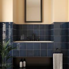 Phòng tắm theo Equipe Ceramicas, Địa Trung Hải Gạch ốp lát