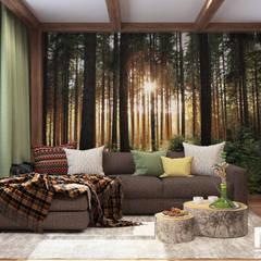Дом: Гостиная в . Автор – MK-design studio