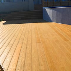 Coowin Composite decking project:  Event venues by Coowin Group, Modern