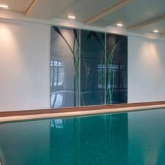 Çilek Spa Design  – Ersin Erarslan Özel Villa Havuzu:  tarz Bahçe havuzu