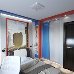 Boys Bedroom by F2project
