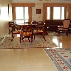 Apartamento T3 + 1 Lumiar Salas de jantar mediterrânicas por EU LISBOA Mediterrânico