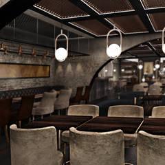 Old World Restaurant:  Bars & clubs door Deev Design, Modern Stenen