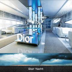 :  Kantoor- & winkelruimten door Deev Design, Modern Glas