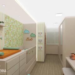 Baby room by MÁRCIA SENNA ARQUITETURA E PAISAGISMO