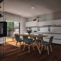 Small kitchens by ofisvesaire , Country