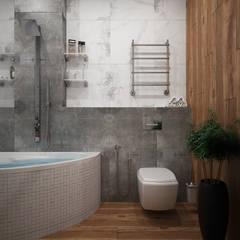 Ванная: Ванные комнаты в . Автор – Мастерская дизайна INDIZZ