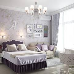 Мастерская дизайна INDIZZ 의  여아 침실