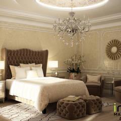 Interiors: Спальни в . Автор – Мастерская дизайна INDIZZ