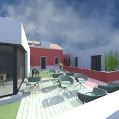 Rumah pedesaan by 2FCS - Arquitectura e Decoração