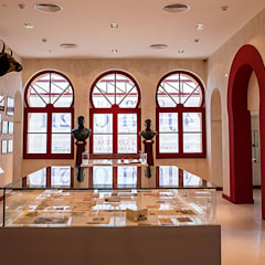 Exhibition centres by Margarida Bugarim Interiores