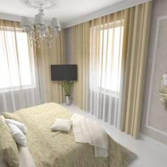 Квартира на Кутузовском: Маленькие спальни в . Автор – Студия Ольги Таракановой