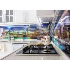 Evidize - Şenel Güzel – Milano Design Mebrane Mutfak Dolabı:  tarz Ankastre mutfaklar