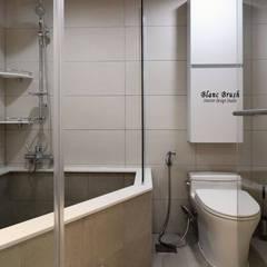 분당 정든마을 동아아파트 1단지 59평 인테리어: 블랑브러쉬의  욕실,모던