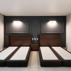 분당 정든마을 동아아파트 1단지 59평 인테리어: 블랑브러쉬의  침실