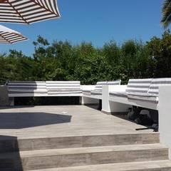 Remodelacion Terraza: Piscinas de jardín de estilo  por Camps Arquitectura