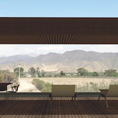 Casa Santa Cruz de Flores: Casas de campo de estilo  por MESIA ARQUITECTOS,
