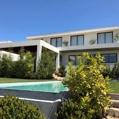 Casa Maitencillo.: Casas unifamiliares de estilo  por Camps Arquitectura