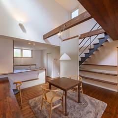 اتاق غذاخوری توسط一級建築士事務所 ima建築設計室, اکلکتیک (ادغامی)