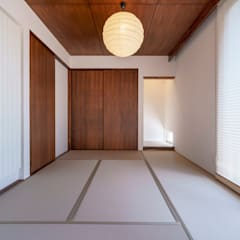 من 一級建築士事務所 ima建築設計室 إنتقائي خشب Wood effect
