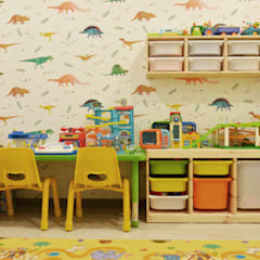 G House:  Kamar Bayi & Anak by Atelier Ara