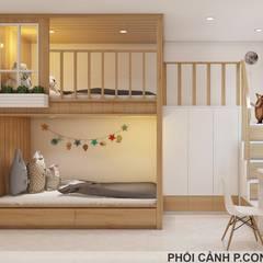 Designer:  Phòng ngủ by Công ty TNHH Nội Thất Mạnh Hệ