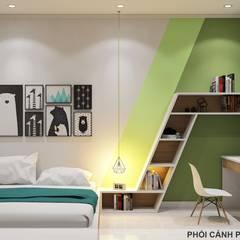 Designer:  Phòng ngủ bé trai by Công ty TNHH Nội Thất Mạnh Hệ,