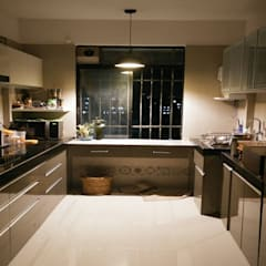MONTVERT FINESSE BANER PUNE :  Kitchen units by decormyplace,Modern Plywood