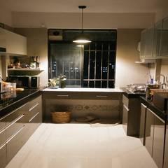 Muebles de cocinas de estilo  por decormyplace, Moderno Contrachapado