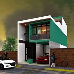Remodelacion Metropolis II: Casas pequeñas de estilo  por MARQ. Arquitectos.