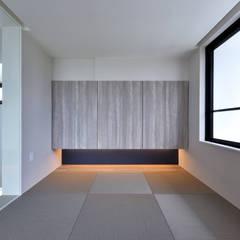 きたなかのいえ: 久友設計株式会社が手掛けた和室です。,ミニマル