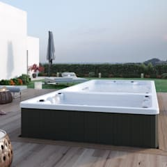 Swimspa Duo: Jacuzzis de estilo  de Aquavia Spa