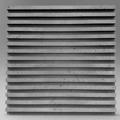 Panele ścienne 3D ZICARO - model RAXER: styl , w kategorii Jadalnia zaprojektowany przez ZICARO - producent paneli 3D o strukturze betonu architektonicznego