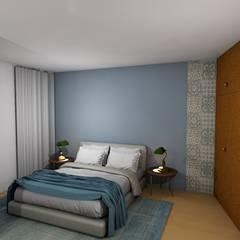 Quarto de Casal Hotel: Hotéis  por Nieta Atelier