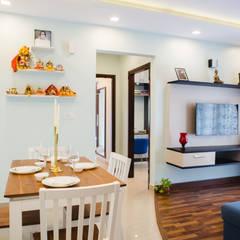 Comedores de estilo  por HomeLane.com , Asiático