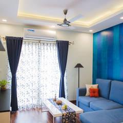 Salas de estilo  por HomeLane.com, Asiático