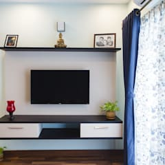 Media room by HomeLane.com