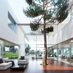 Mejores arquitectos en Madrid: Pasillos y vestíbulos de estilo  de Otto Medem Arquitecto vanguardista en Madrid