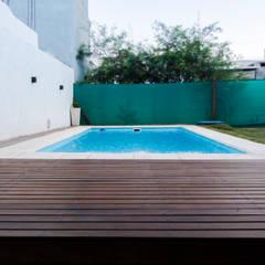 DISEÑO DE ESPACIO EXTERIOR Jardines minimalistas de CLAUDIA BREPPE Minimalista