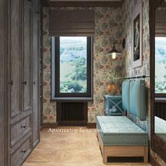 Saunas de estilo  por Архитектурное Бюро 'Капитель'