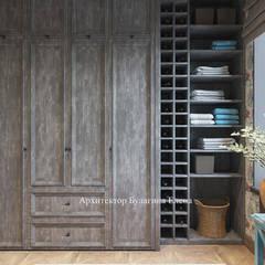 Sauna by Архитектурное Бюро 'Капитель', Industrial Wood Wood effect
