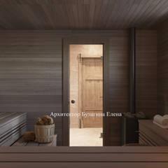 Sauna by Архитектурное Бюро 'Капитель',
