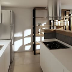 Kitchen units by laura zilinski arquitecta, Industrial