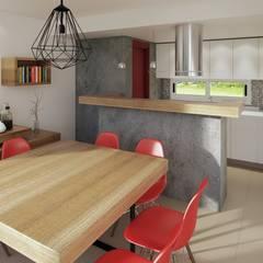 Reforma cocina comedor: Comedores de estilo  por laura zilinski arquitecta