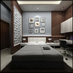 Bedroom by SUKAM STUDIO