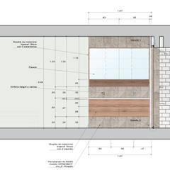 Remodelación de baño principal en Surco: Baños de estilo  por MESIA ARQUITECTOS, Moderno